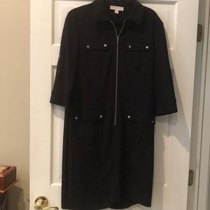Black Michael Kors shirt dress